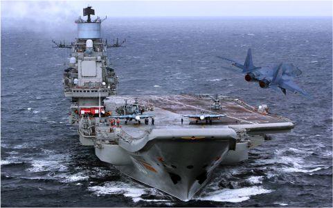 В ВПК назвали сроки строительства нового российского авианосца