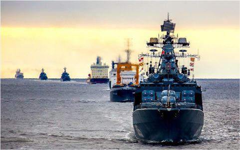 Северный флот анонсировал стратегическое учение в Арктике осенью