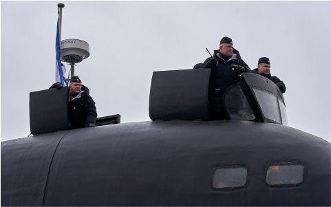 Атомная подводная лодка «Казань» прибыла на Северный флот
